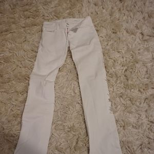 Lily Pulitzer White Jeans (Size 0)